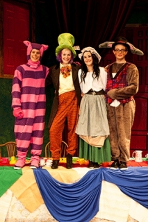 Alice in Wonderland - Tea Party Costumes - Mad Hatter, Dormouse, Cheshire Cat