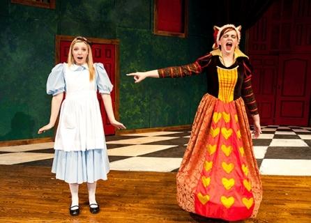 Alice in Wonderland - Alice & Queen of Hearts Costumes