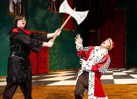 Alice in Wonderland - King of Hearts and Executioner Costumes