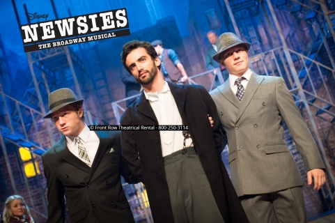 Newsies costume rental -  period costumes - Front Row Theatrical Rental - 800-250-3114