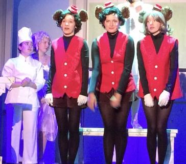 Monkey Scene Drowsy Chaperone Costumes