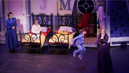 The Nursery- Mary Poppins set rental - Front Row Theatrical - 800-250-3114