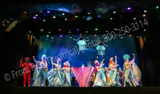 Little Mermaid - set rental - Front Row Theatrical - 800-250-3114