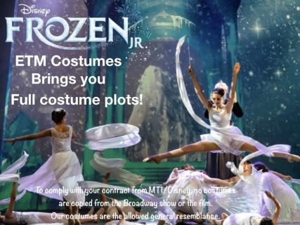 Frozen Jr  Full Costume Plot | Music Theatre International