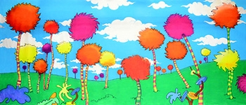 Grosh Seussical  Backdrops used in Productions of Seussical