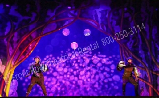 Little Mermaid Ursala's Lair - set rental - Front Row Theatrical - 800-250-3114