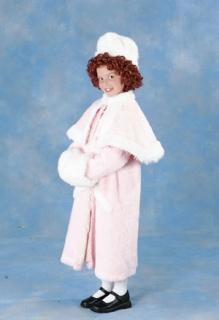 Annie coat hat muff