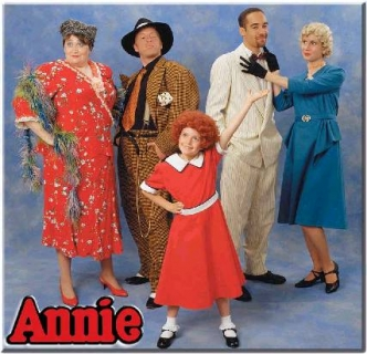 Annie Miss Hannigan Rooster Grace