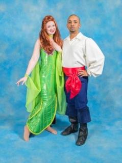 Ariel Prince Eric Little Mermaid