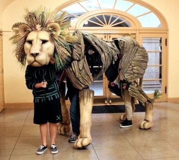 Aslan Lion Puppet