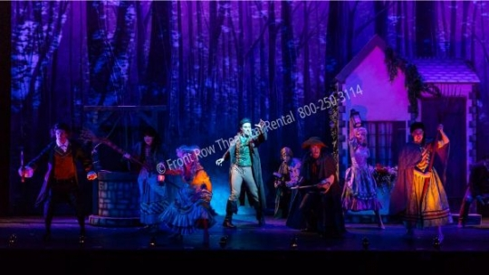 Beauty and the Beast Forest - set rental - Front Row Theatrical - 800-250-3114