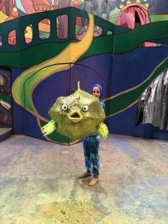 Blowfish Puppet