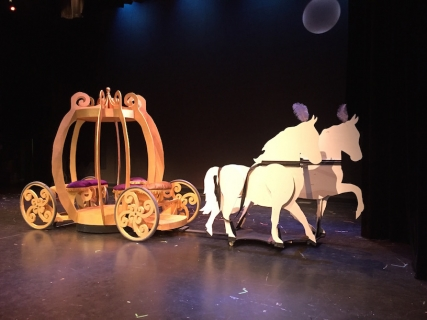 Cinderella (carriage and horses)