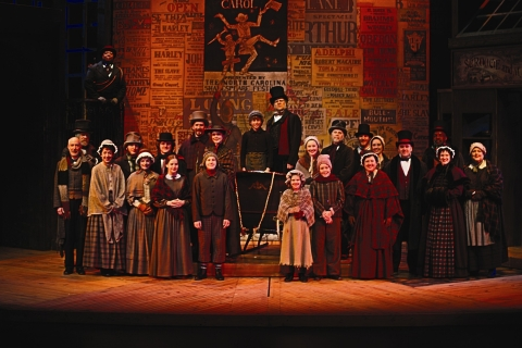 A CHRISTMAS CAROL - SET, COSTUMES and PROPS FOR RENT