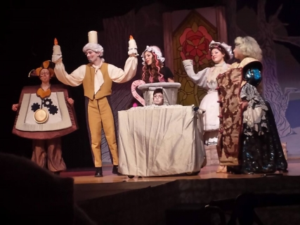 Beauty & the Beast Character Costumes - Lumiere, The Wardrobe, Cogsworth, Mrs. Potts