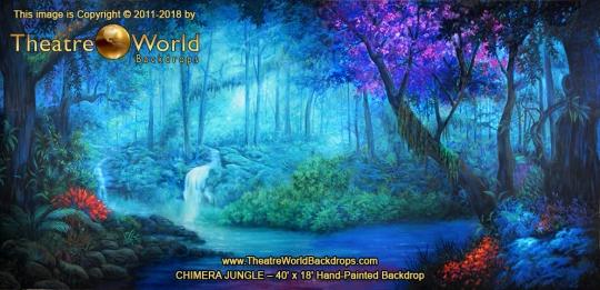 Chimera Jungle Scenic Backdrop