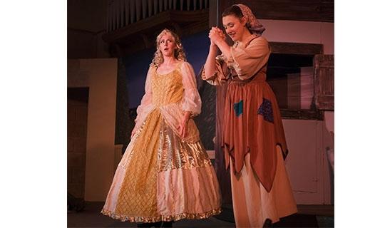 Cinderella and Godmother