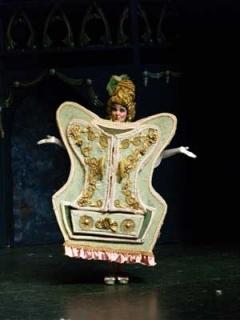 Beauty & the Beast - Madame de la Grande Bouche Enchanted Wardrobe Costume