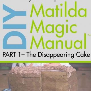 DIY Matilda Magic Manual - Disappearing Cake