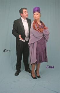Don Lockwood Lina Lamont