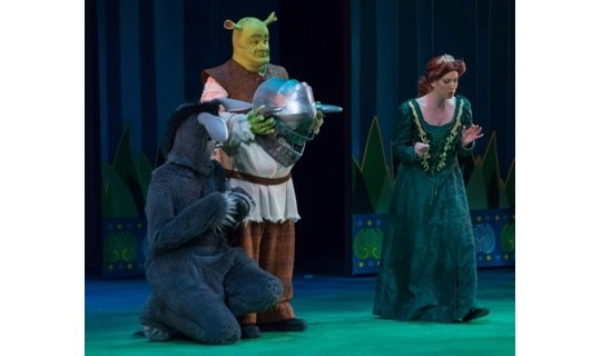 Shrek The Musical Costume Rentals - Donkey - Shrek - and - Fiona