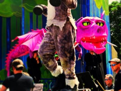 Shrek Dragon Puppet
