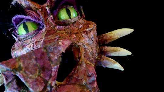 Dragon Puppet by Melissa Patrello with StageWorthy Arts