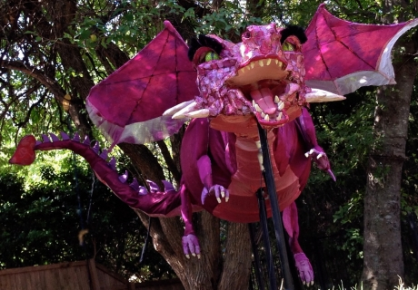 Dragon Puppet for Shrek the Musical