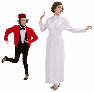 Rental Costumes for The Drowsy Chaperone - Janet with Monkey