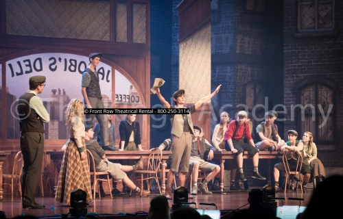 Newsies costume rental  - Front Row Theatrical Rental - 800-250-3114