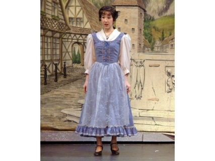 Beauty and the Beast Costume Rental - Belle Blue Dress