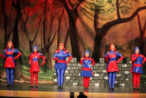 Shrek the Musical Dulac Dancers costumes