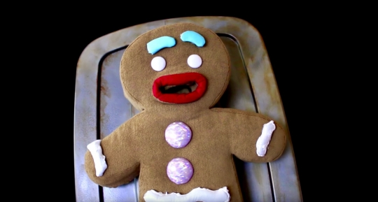 Gingy Puppet for Shrek the Musical