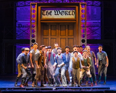 Newsies set rental - Newsies World Doors Front Row Theatrical Rental - 800-250-3114