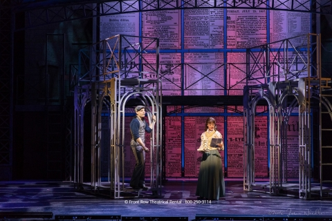 Newsies set rental - Front Row Theatrical Rental - 800-250-3114