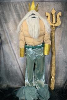 King Triton, Little Mermaid, costume rental, PSBcreative