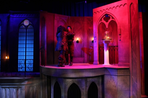 Beauty and the Beast Belle's West Wing - set rental - Front Row Theatrical - 800-250-3114