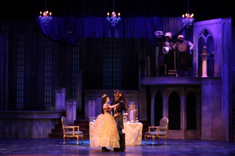 Beauty and the Beast Tale as Old as Time - set rental - Front Row Theatrical - 800-250-3114