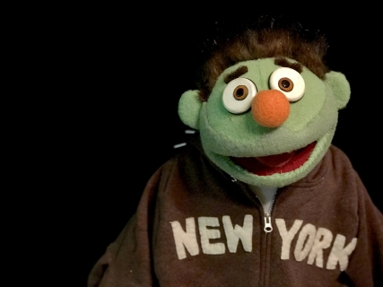 nicky Puppet for Avenue Q