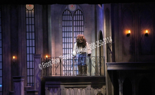 the west wing set picture - Beauty and the Beast - Front Row Theatrical Rental - 800-250-3114