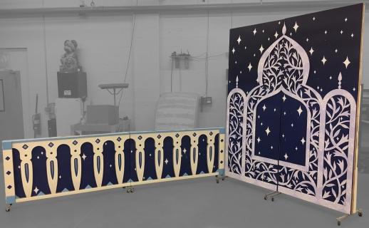 Aladdin Jasmine's Balcony