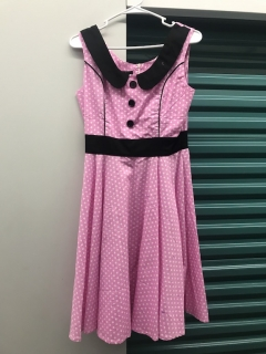 Kira pink dress