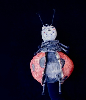 Lady Bug Puppet for James and the Giant Peach
