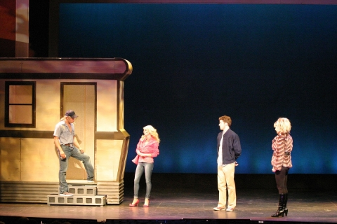 Set from The Gateway's 2011 production of Legally Blonde. Set by Robert A Kovach