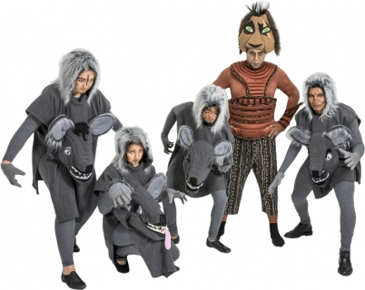 Rental Costumes for The Lion King - Scar, Hyenas