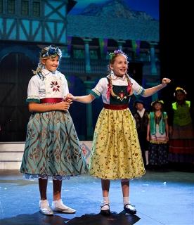 Little Elsa and Little Anna