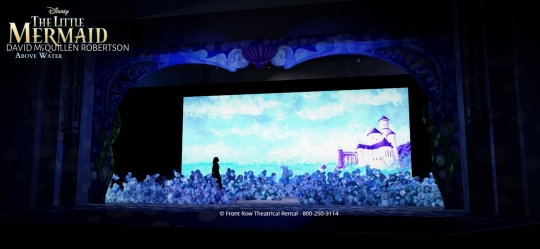 The Little Mermaid premium rental set - Above Water- Front Row Theatrical Rental - 800-250-3114