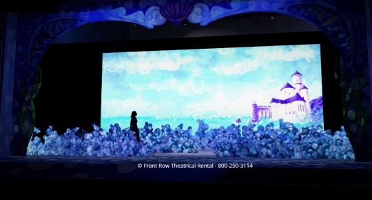 Little Mermaid premium set rental - Front Row Theatrical Rental - 800-250-3114