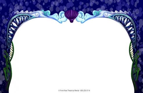 Little Mermaid premium set rental - The Arch - Front Row Theatrical Rental - 800-250-3114