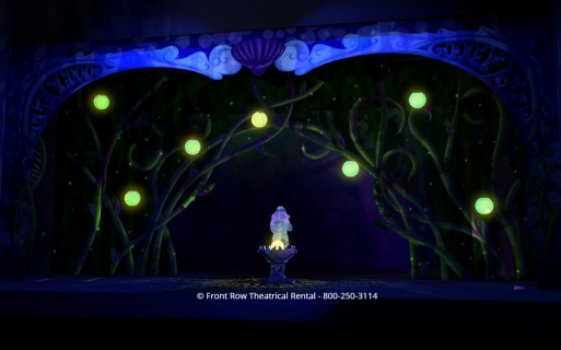 Little Mermaid premium set rental - Ursalas Lair  - Front Row Theatrical Rental - 800-250-3114